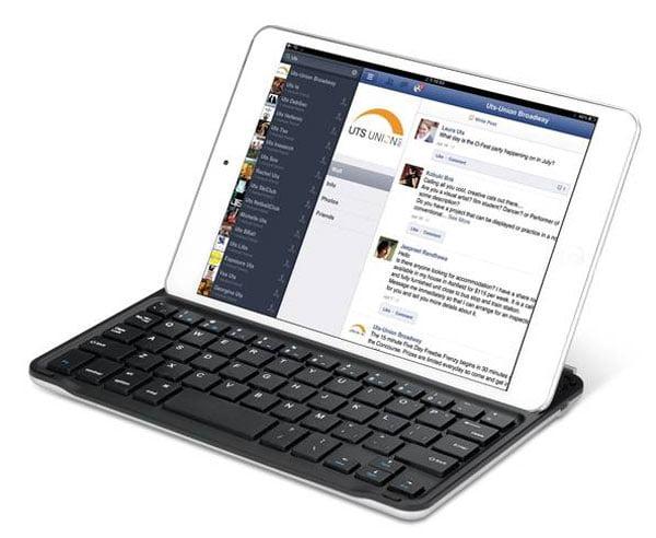 Tabletowo.pl Nowa klawiatura Bluetooth dla iPada Mini: Genius LuxePad i9010 Akcesoria Nowości