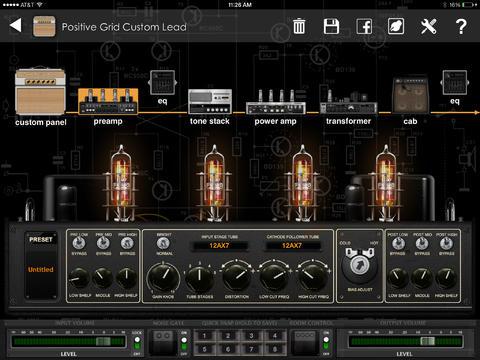 Tabletowo.pl BIAS - wirtualne wzmacniacze gitarowe dla iPada Aplikacje Nowości