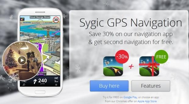 Tabletowo.pl Świąteczna promocja Sygic. Android: dwie licencje w cenie jednej (i jeszcze 30% taniej). iOS: rabat 40% Aplikacje Nowości