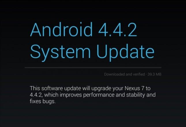 Android 4.2.2 dla tabletów Nexus