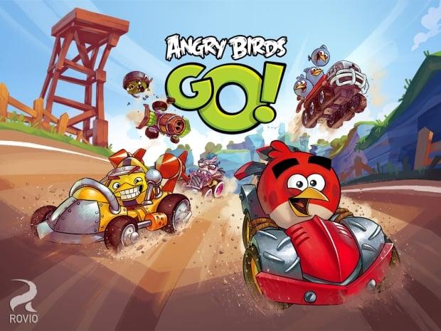 Angry Birds Go! - gokartowe wyścigi wściekłych ptaków