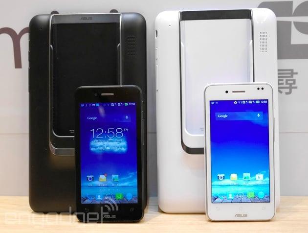 """Tabletowo.pl Asus Padfone mini oficjalnie: Snapdragon MSM8226, 4,3"""", dual SIM i 7-calowy dock Asus Nowości"""