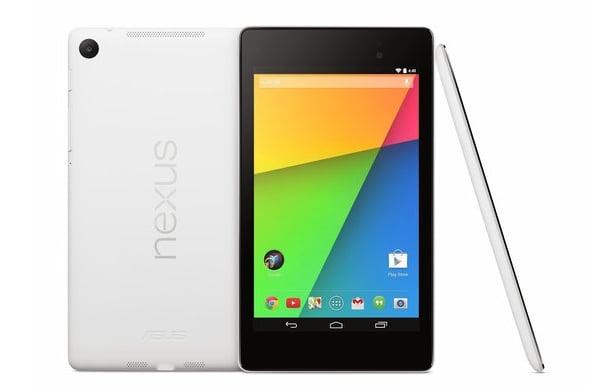 Nexus 7 2013 w bieli