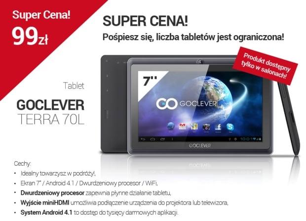 Promocja: GoClever Terra 70L za 99 złotych
