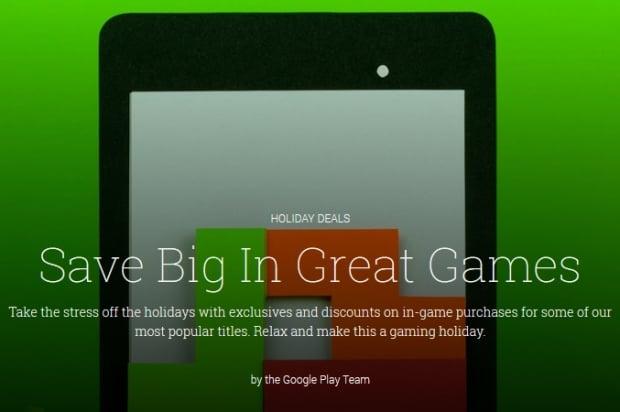 Świąteczne promocje gier i aplikacji w Google Play