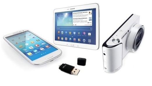 Pendrive Bidul&Co do tabletów z microUSB, portem Samsunga i iPadów