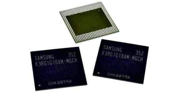 Tabletowo.pl Pierwszy mobilny chip LPDDR4 DRAM - od Samsunga. Wkrótce tablety i smartfony z 4GB RAM? Nowości