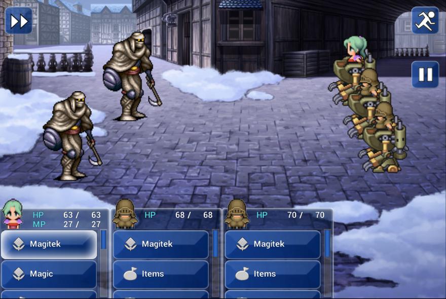 Tabletowo.pl Final Fantasy VI debiutuje w Google Play Aplikacje Nowości