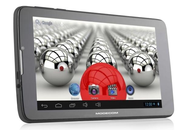 Tabletowo.pl Modecom FreeTab 7004 HD+ X2 3G+ Dual z GPS, 3G (dual SIM) i Bluetooth za 419 złotych Nowości