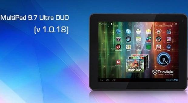 Prestigio MultiPad 9.7 Ultra DUO - oprogramowanie 1.0.18