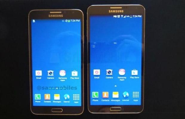 Samsung Galaxy Note 3 Neo na pierwszym zdjęciu