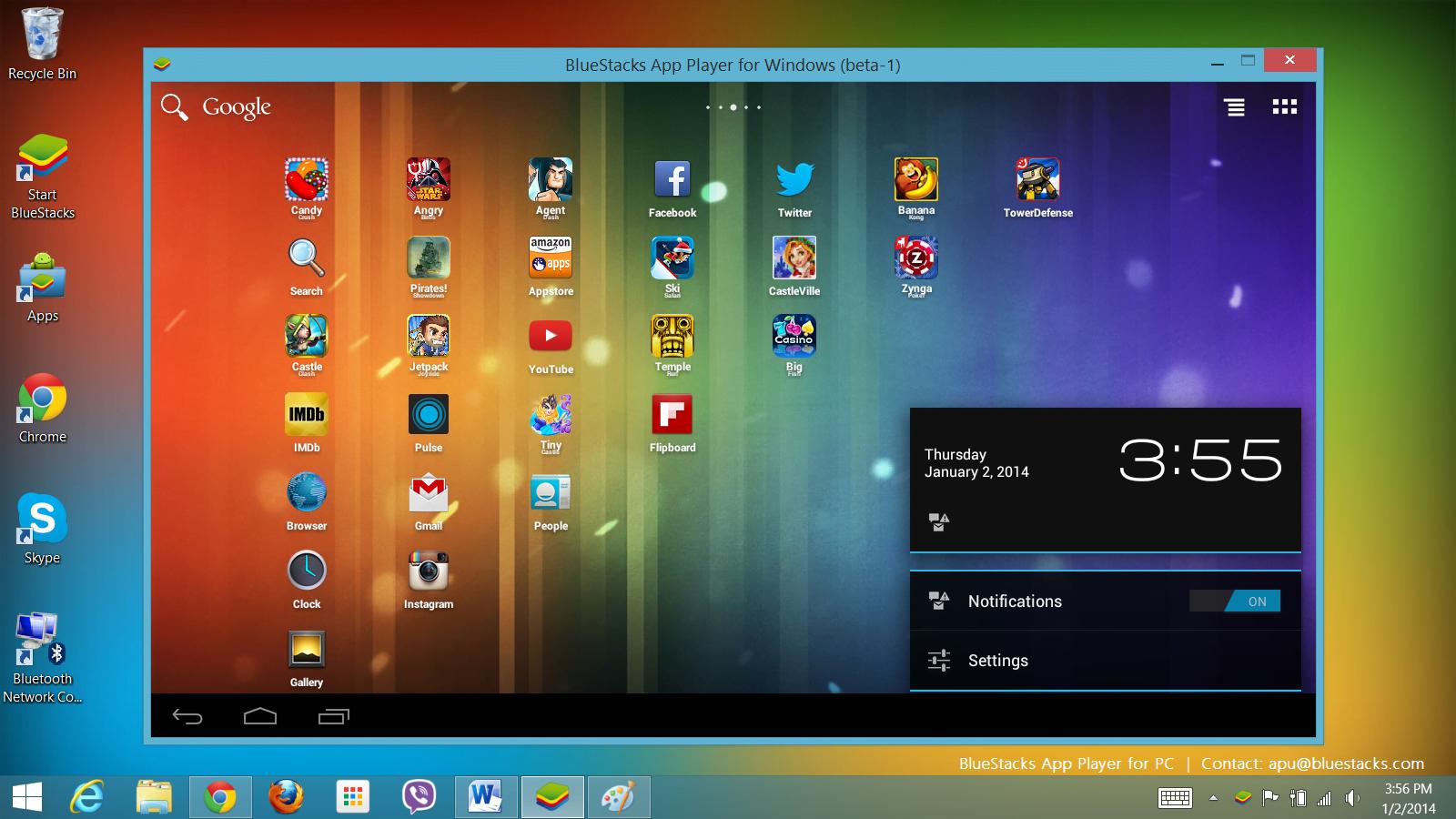 Tabletowo.pl Współpraca AMD z BlueStacks owocuje: korzystaj z Androida na sprzęcie z Windowsem Nowości