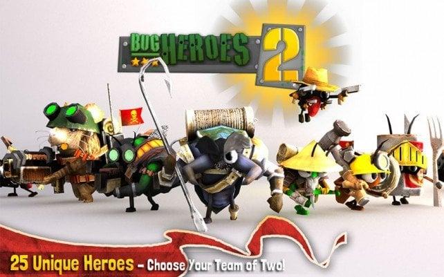 Tabletowo.pl Foursaken Media zapowiada Bug Heroes 2 na iPada Aplikacje Nowości