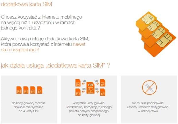 Tabletowo.pl Orange: jeden abonament - kilka kart SIM Ciekawostki Nowości