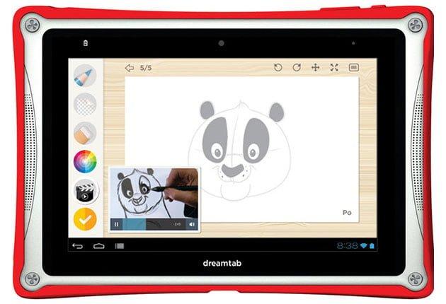 DreamTab - tablet dla dzieci od DreamWorks i Fuhu