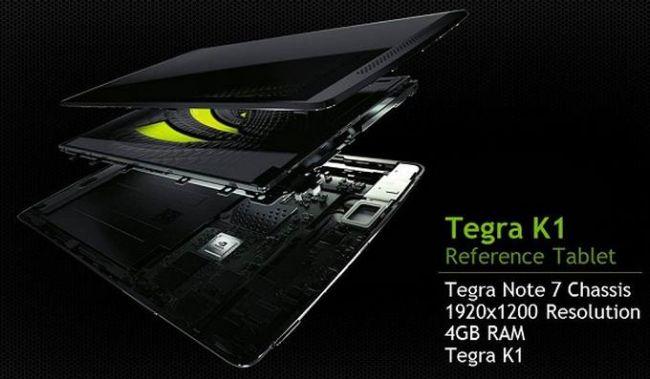 Wiemy jakich parametrów możemy się spodziewać po tabletach z NVIDIA Tegra K1