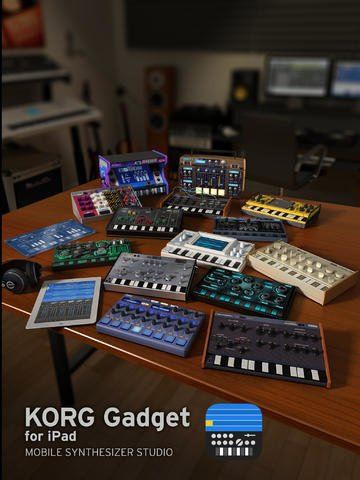 Tabletowo.pl KORG Gadget debiutuje w App Store Aplikacje Nowości