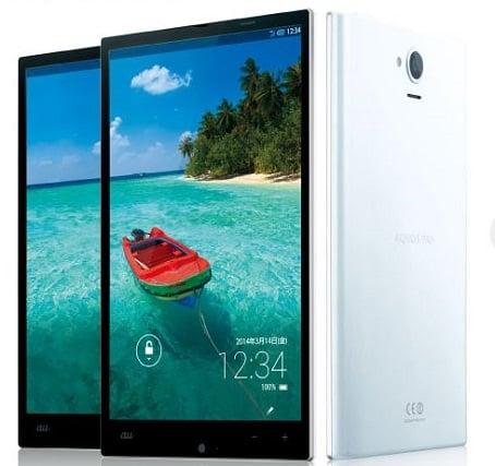 """Tabletowo.pl Sharp Aquos Pad SHT22 z ekranem IGZO 7"""" 1920x1080 i Snapdragonem 800 Ciekawostki Nowości"""