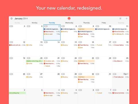 Tabletowo.pl Sunrise Calendar - na taki kalendarz na iPada czekałam! Integracja z kontem Google i nie tylko Aplikacje Nowości