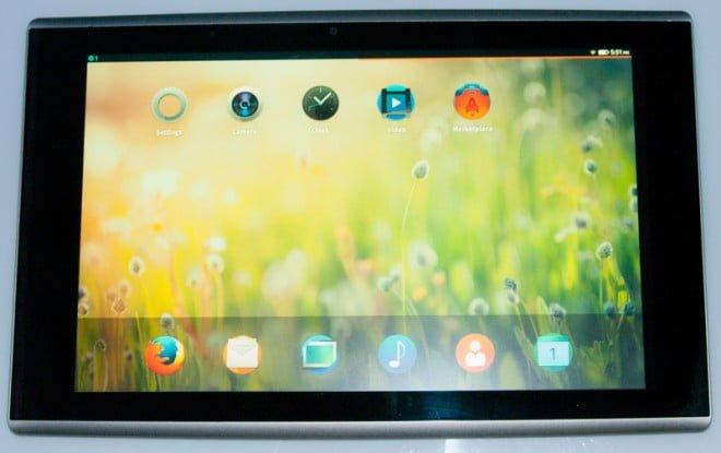 Specyfikacja pierwszego tabletu z systemem Firefox OS 18