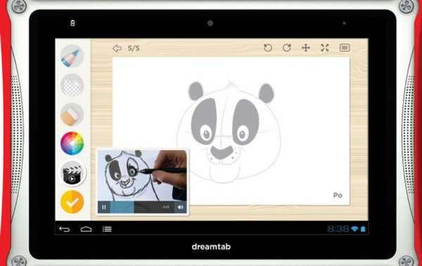 Tabletowo.pl DreamTab - tablet dla dzieci od DreamWorks i Fuhu Nowości