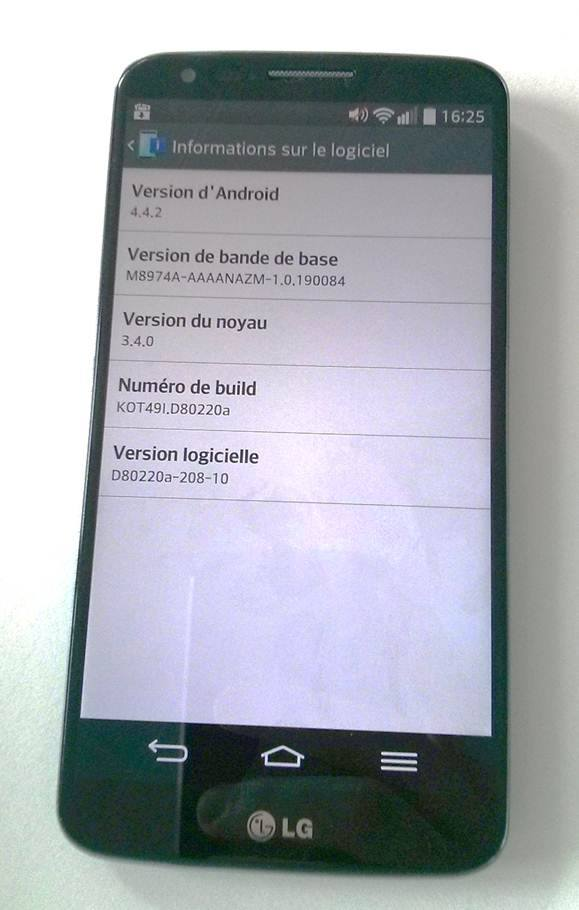 Tabletowo.pl Za tydzień Android KitKat zacznie trafiać na LG G2 Aktualizacje LG Plotki / Przecieki