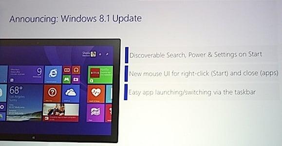 Tabletowo.pl Wiosną pojawi się aktualizacja Windowsa 8.1 Microsoft Nowości