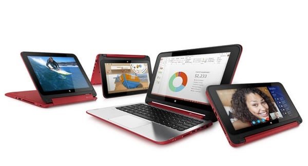 HP Pavilion x360 – tablet z ekranem odchylanym do 360 stopni