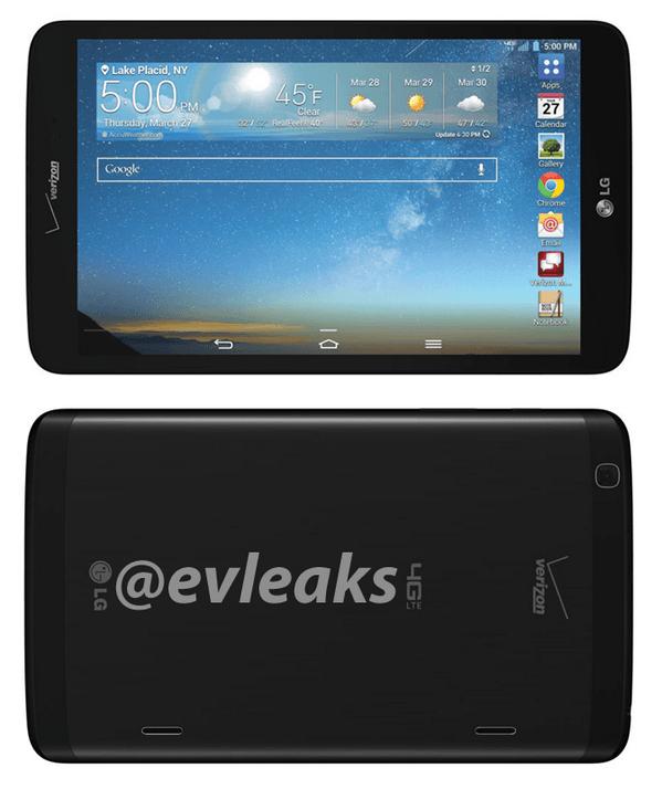 Tabletowo.pl LG G Pad 8.3 z LTE zmierza do Verizon. Ciekawe czy (i kiedy) doczekamy się go w Europie... LG Nowości Plotki / Przecieki