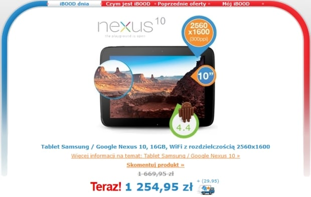 nexus10-ibood-1285zł