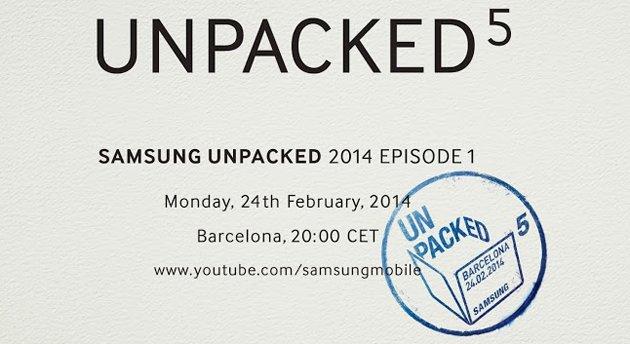 Tabletowo.pl Samsung zaprasza na konferencję podczas MWC 2014 - premiera Galaxy S5? Nowości Samsung
