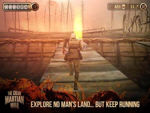 Tabletowo.pl The Great Martian War debiutuje w App Store i Google Play Aplikacje Nowości