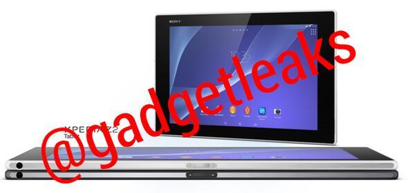 Tabletowo.pl Sony Xperia Tablet Z2 na pierwszych zdjęciach prasowych. Wciąż nieoficjalnie Nowości Plotki / Przecieki Sony