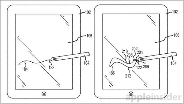 Tabletowo.pl Apple patentuje rysik. Przyda się w iPadzie Pro? Apple Ciekawostki Nowości