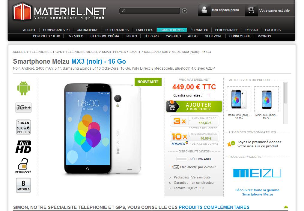Znamy ceny Meizu MX3 w Europie! 20