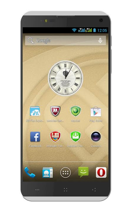 Tabletowo.pl Prestigio MultiPhone PAP7505DUO - 8 rdzeni, 2 GB RAM oraz Android KitKat Ciekawostki Nowości