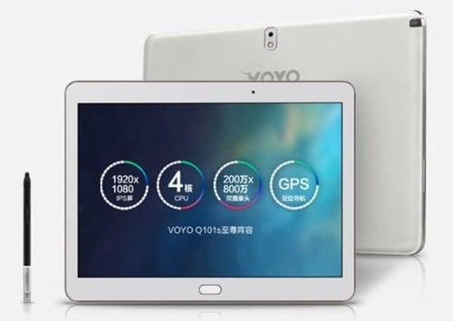 Tabletowo.pl VOYO Q101S: klon Samsunga Galaxy Note 10.1 2014 za 160 dolarów Chińskie Ciekawostki Nowości