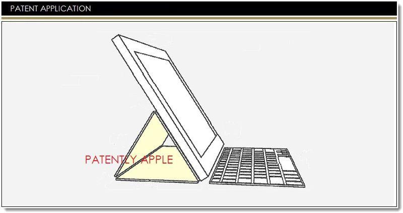 Tabletowo.pl Apple patentuje etui dla iPada i klawiaturę z gestami Apple Nowości
