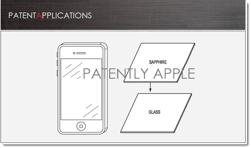 Tabletowo.pl Apple przyznano patent na szafirową pokrywę szkła i jego obróbkę Apple Nowości