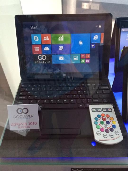 Tabletowo.pl Tablety z Windowsem 8.1 stają się bardziej przystępne cenowo. Kolejny z nich: Goclever Insignia 1010 za niecały 1000 złotych Nowości