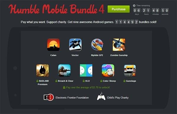 Tabletowo.pl Humble Mobile Bundle 4 powiększone o trzy tytuły Aplikacje Nowości Promocje