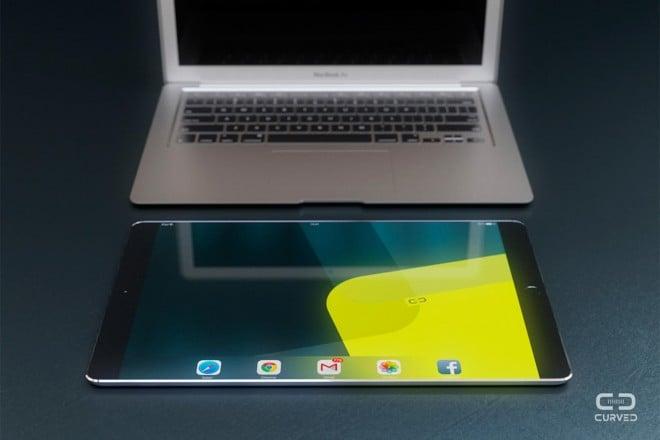 """Tabletowo.pl Spekulacji na temat iPada Pro z ekranem 12,9"""" ciąg dalszy. Koncepcje designu pojawiły się w sieci Apple Nowości Plotki / Przecieki"""