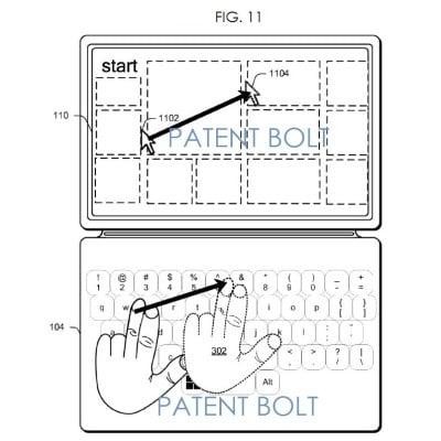 Tabletowo.pl Microsoft opatentował gesty wykonywane na klawiaturze Microsoft Nowości