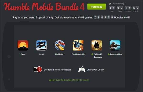 Tabletowo.pl Humble Mobile Bundle 4 - gry na Androida za... ile chcesz Aplikacje Nowości Promocje
