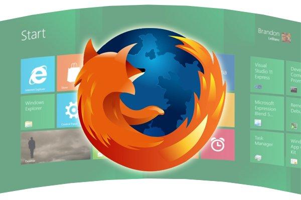 """Mozilla zawiesza prace nad """"dotykową"""" przeglądarką Firefox dla Windows 8 26"""