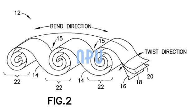 Tabletowo.pl Nokia patentuje elastyczne baterie. Przydadzą się w tabletach? Koncepcje Nowości