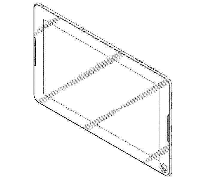 Tabletowo.pl Samsung opatentował tablet... z dziurką Koncepcje Samsung