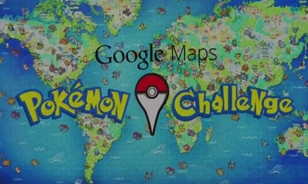 Tabletowo.pl Google wprowadza nowe rozszerzenie swoich map - Pokémon Challenge Aplikacje Google Nowości