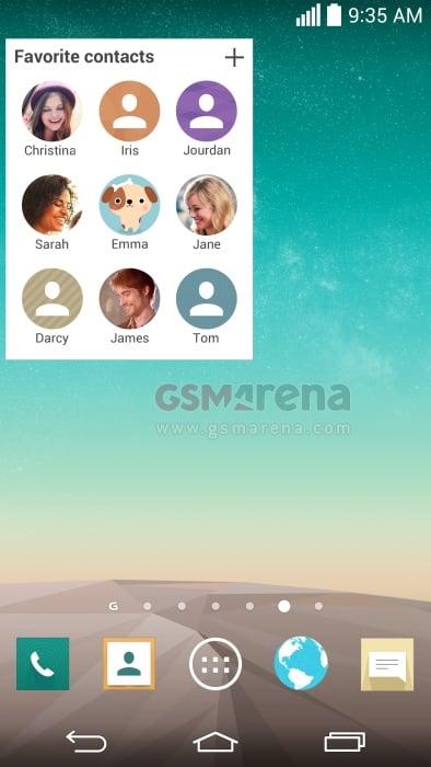Tabletowo.pl Wyciekają zrzuty ekranu LG G3 - flat design na całego Aktualizacje Ciekawostki LG
