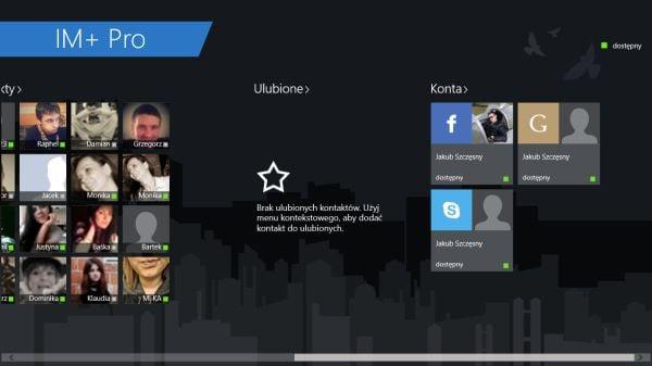 """Tabletowo.pl Windows 8.1 zabrał mi aplikację """"Wiadomości"""" — zainwestowałem w IM+ Pro Aplikacje Microsoft Prześwietlenie Aplikacji"""